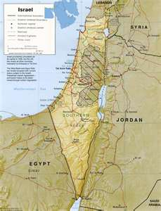 Samaria And Judea, Land of Israel, not Edom