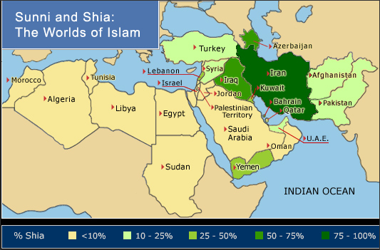 Sunni Shia Demographics
